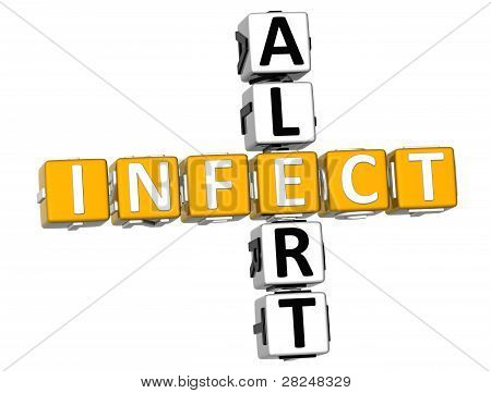 3D Infect Alert Crossword