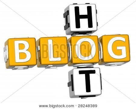 3D Hot Blog Crossword