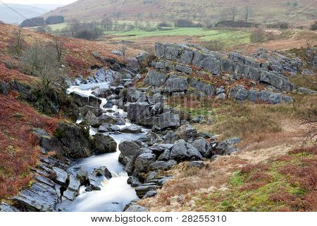Welsh Mountain River