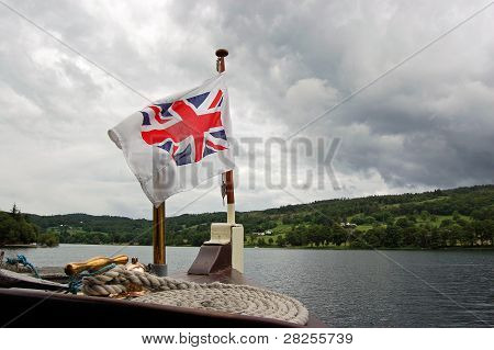 Union Flag on Boat Prow