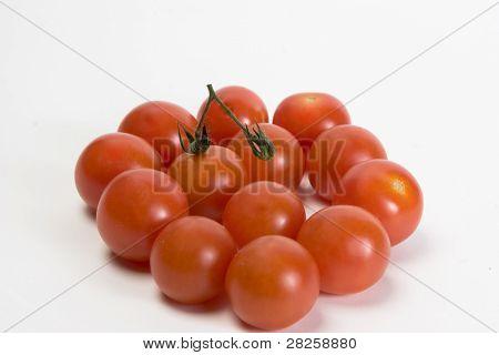 Isolated Tomatos