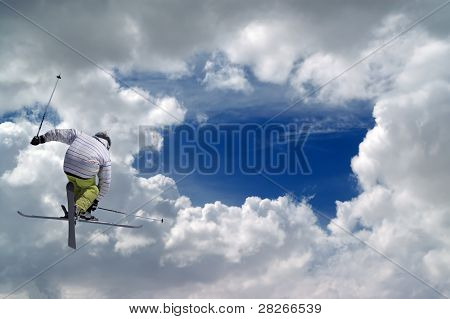 Freestyle Ski Jumper