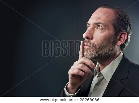 Thoughtful Businessman