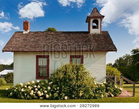 Side of One-Room Schoolhouse