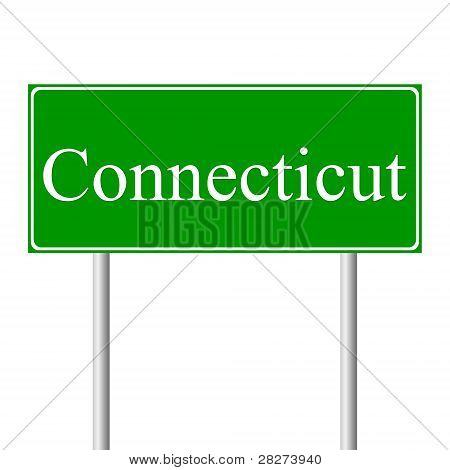 Muestra de camino verde de Connecticut