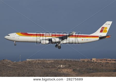 Iberia Airbus A340