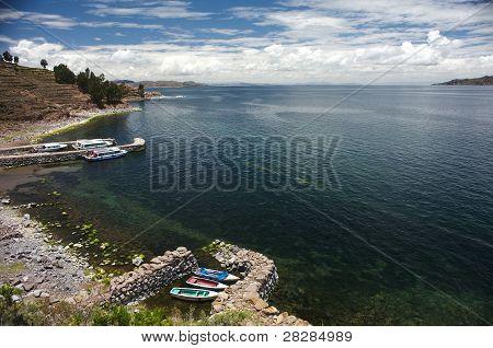 Taquile Harbor