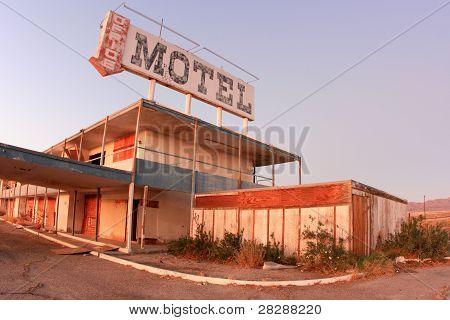 Plenty of room at motel California.