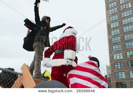 Santa Crossing Over