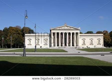 Glyptothek In Munich
