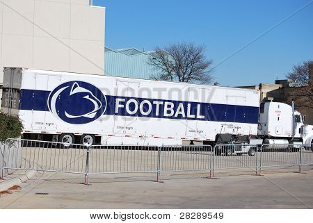 Equipment Truck for Penn State