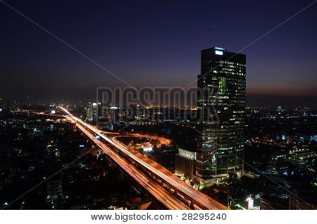 veins of bangkok (night)