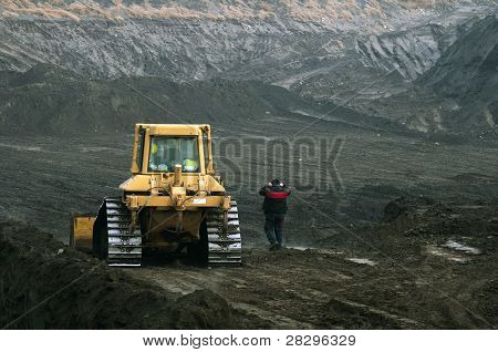 Excavator With Tracks