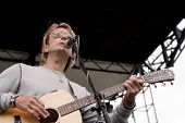 CLARK, NJ - SEPT 17: Cy Curnin performs at the Union County MusicFest on September 17, 2011 in Clark