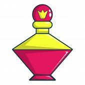 Perfume Of The Princess Icon. Cartoon Illustration Of Perfume Of The Princess Icon For Web Design poster