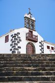 foto of senora  - Nuestra Senora de La Concepcion hermitage at La Palma in Canary Islands Spain - JPG
