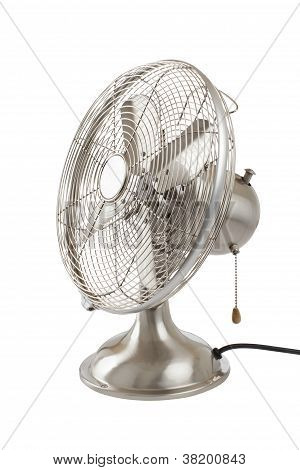 Vintage Four-bladed Oscillating Fan