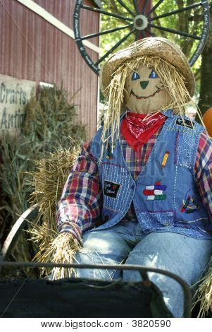 Back To School Scarecrow