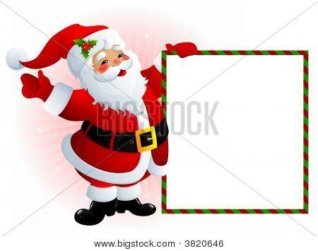 Santa Claus Sign