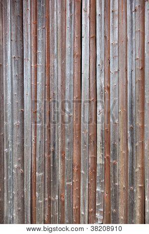 Old Plank Barn Wall
