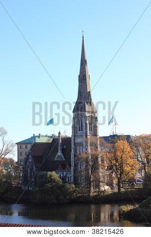 Igreja de Alban SCT, Dinamarca