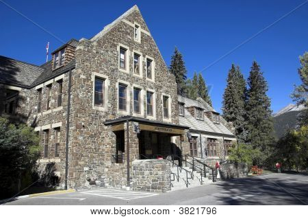 Banff National Park Administration Building