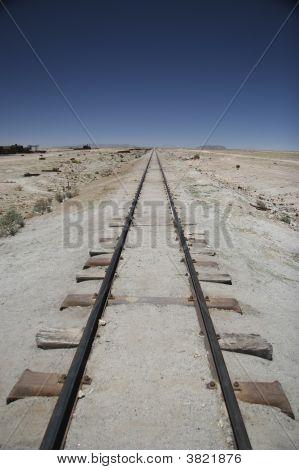 Railway In Potosi, Bolivia
