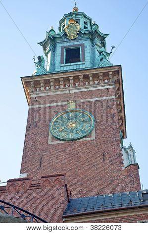 O Castelo de Wawel carrilhões