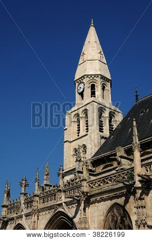 France, Collegiate Church Of Poissy In Les Yvelines