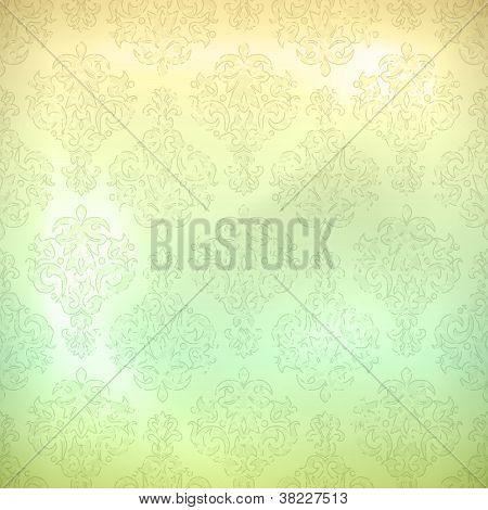 Grunge Retro Seamless Pattern Wallpaper Background