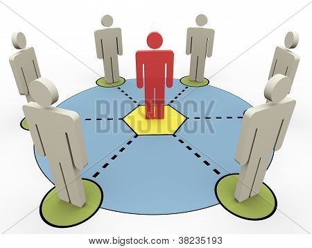 3D People Communication