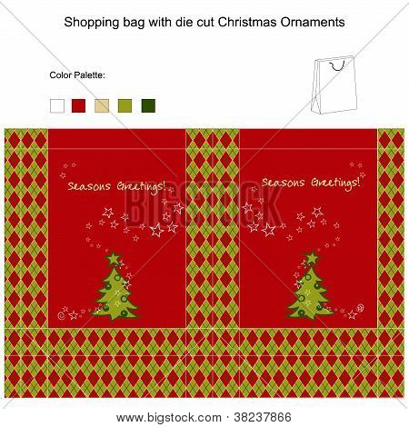 Vector design for Shopping Bag