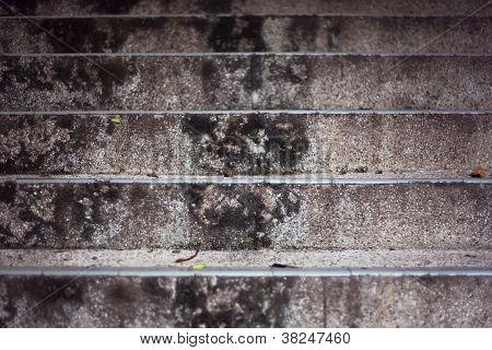 Close Up Stone Steps Background