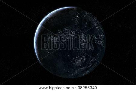 Extraterrestrial planet