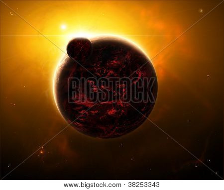 Lava planets