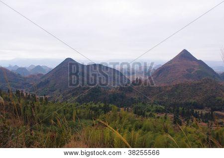 Karst landform at south chinese pro Guangdong