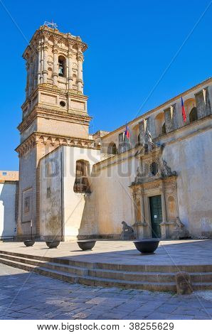 Belltower Mother Church. Copertino. Puglia. Italy.