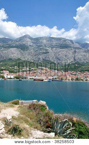 Makarska Town,Dalmatia,Croatia