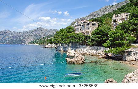 Brela,Makarska Riviera,Dalmatia,Croatia