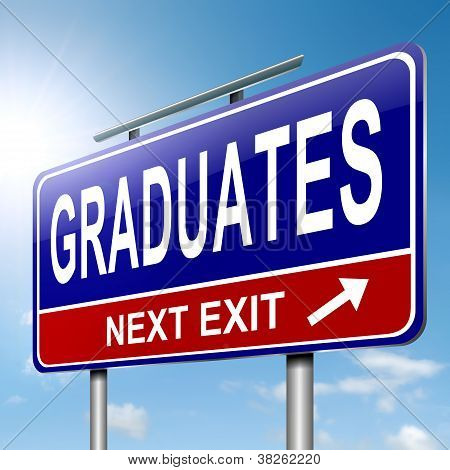 Graduates Concept.