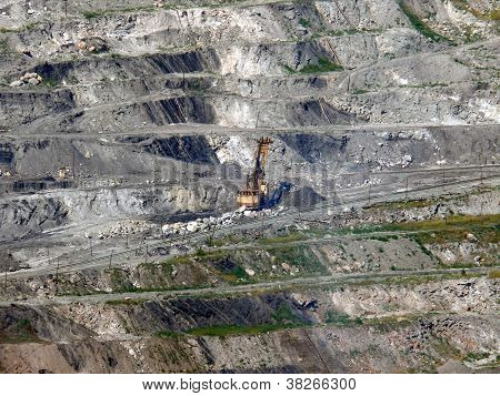 Excavator In Coal Mine - Korkino, Chelyabinsk Region