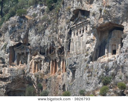 Ancient Lycian Graves