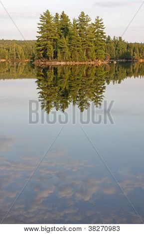 Algonquin Lake Reflection