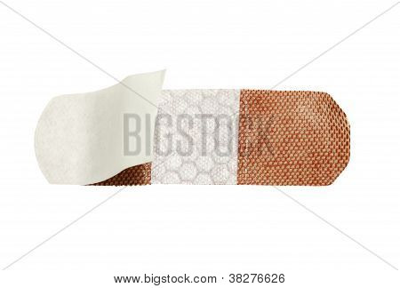 open quilted bandage