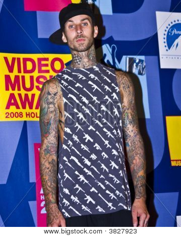 Travis Barker At Vma