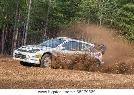 Ford Focus Rally Car