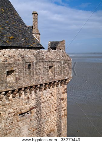 Mont Saint Michel Castle Corner