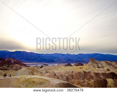 Mountainous Landscape in Death Valley