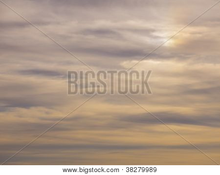 Beautiful View Of Clouds In Sky