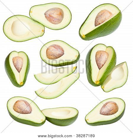 Collection Of Avocados